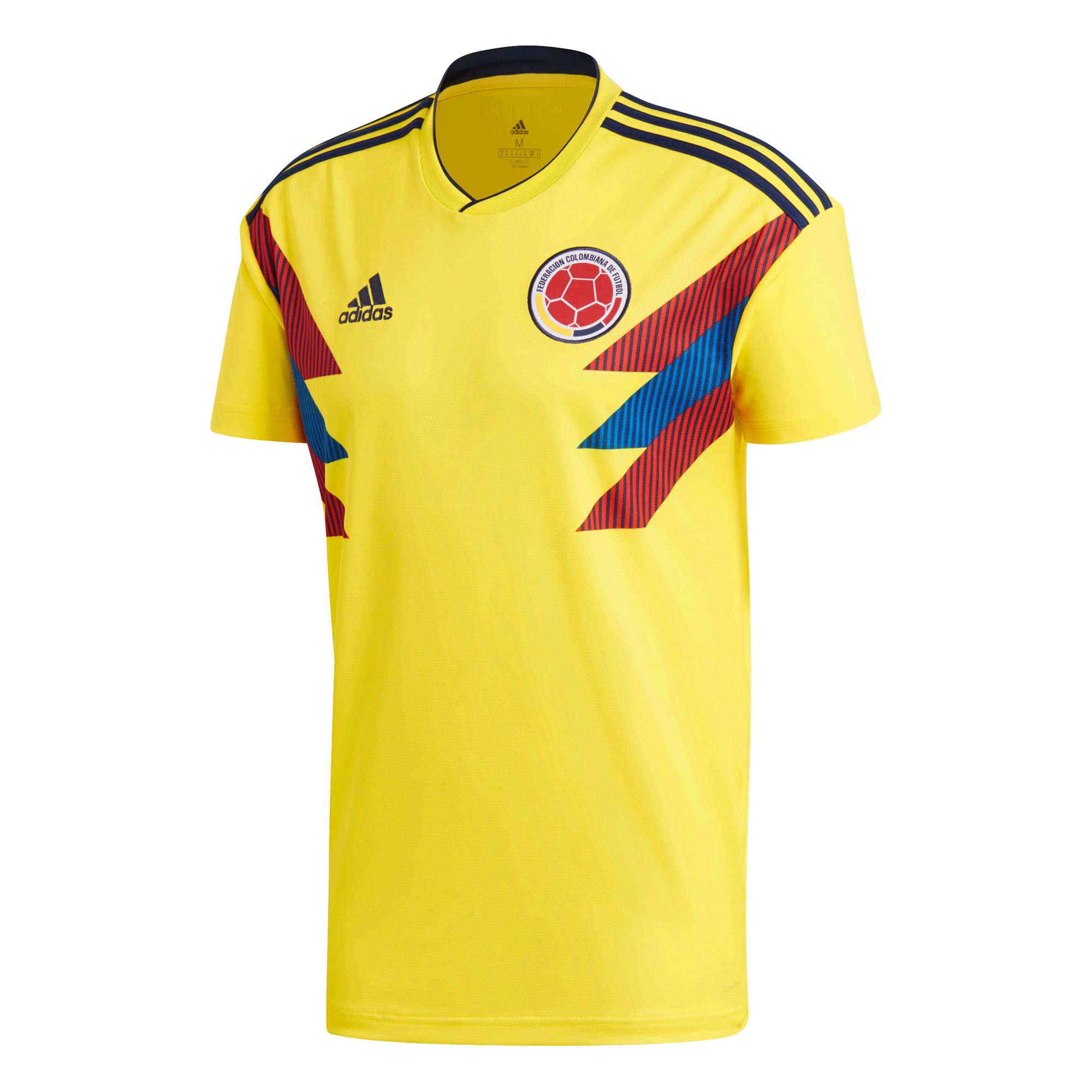 Resultado de imagen para camiseta seleccion colombia