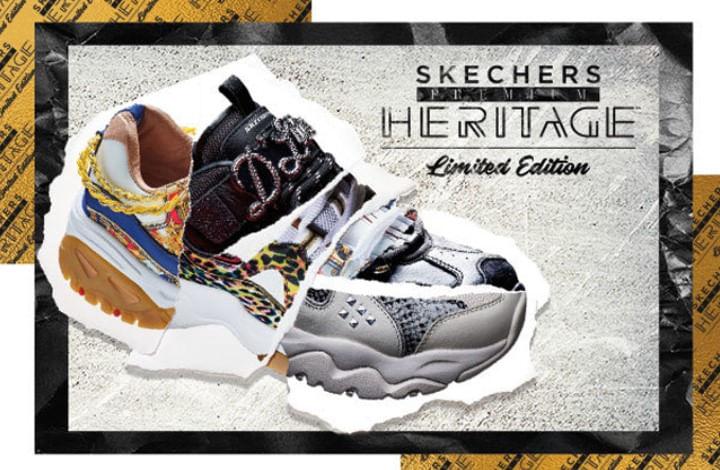 zapatos skechers blancos plataforma